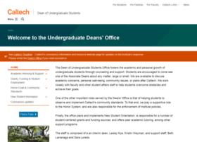 deans.caltech.edu
