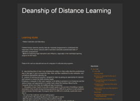 deanship-of-distance-learning.blogspot.ca