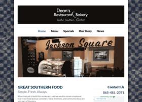 deansrestaurantandbakery.com