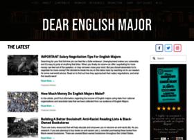 dearenglishmajor.com