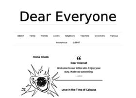 deareveryone.com