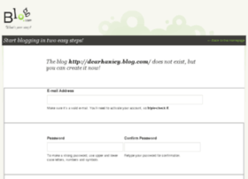 dearhaniey.blog.com