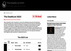 deathlist.net
