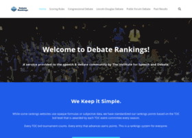 debaterankings.com