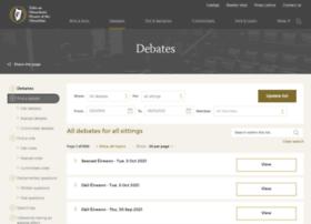 debates.oireachtas.ie
