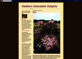 debbiesdelectabledelights.blogspot.com