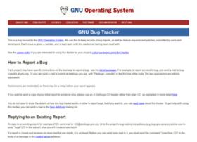 debbugs.gnu.org