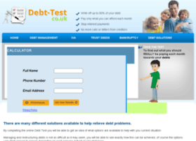 debt-test.co.uk