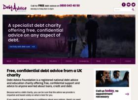 debtadvicefoundation.org