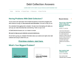 debtcollectionanswers.com