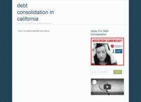 debtconsolidationincalifornia.com
