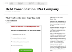 debtconsolidationusa.co