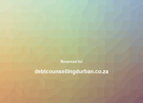 debtcounsellingdurban.co.za