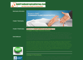 debtfreebankruptcyattorney.com