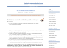 debtproblemsolutions.com