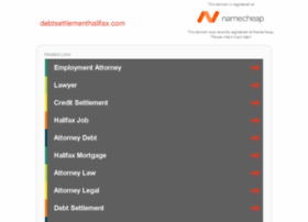 debtsettlementhalifax.com