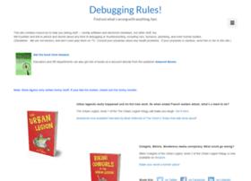 debuggingrules.com