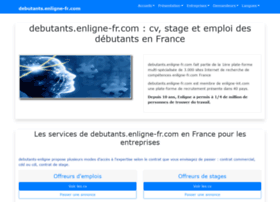 debutants.enligne-fr.com