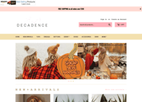decadenceboutique.com