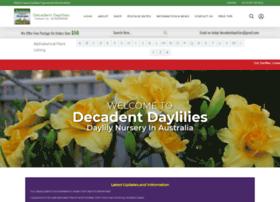 decadentdaylilies.com