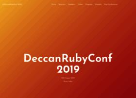 deccanrubyconf.org