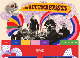 decemberists.com