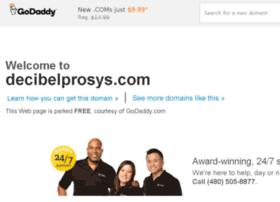 decibelprosys.com