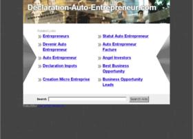 declaration-auto-entrepreneur.com