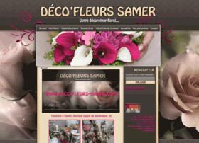 deco-fleurs-samer.com
