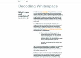 decodingwhitespace.com