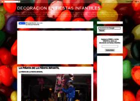 decoracionenfiestasinfantiles.blogspot.com