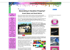 decorating-vacation-property-for-profit.com