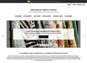 decorativefabricsdirect.com
