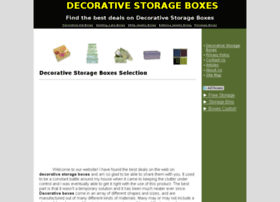 decorativestorageboxesnow.org