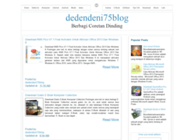 dedendeni75.blogspot.com