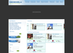 dedeogluelektronik.com
