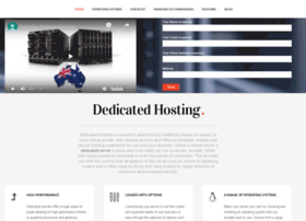Dedicatedhost.com.au