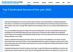 dedicatedhostinghub.com