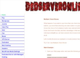 dedserveronline.com