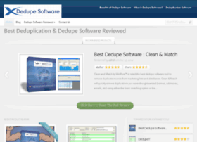 dedupesoftware.com