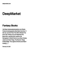 deepmarket.com