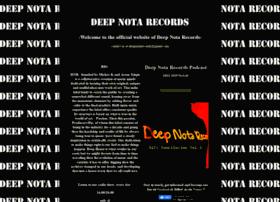 deepnotarecords.com