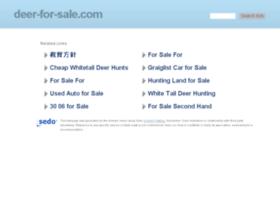 deer-for-sale.com