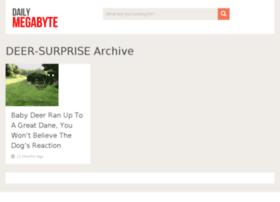deer-surprise.dailymegabyte.com
