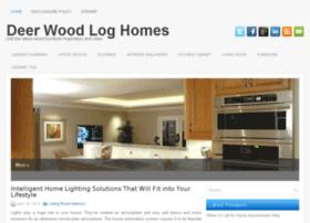 deerwoodloghomes.com
