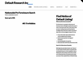 defaultresearch.com