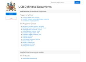 defdocs.ucb.ac.uk