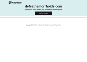defeathemorrhoids.com