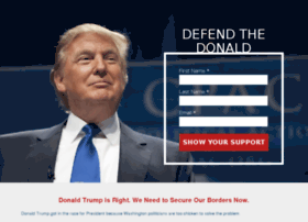 defendthedonald.com