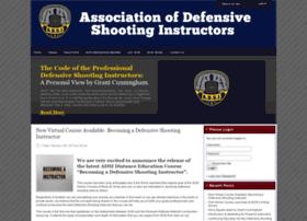 defensiveshootinginstructors.org